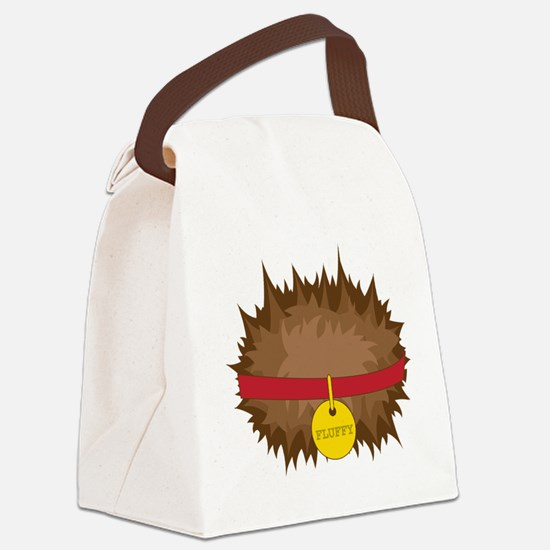 tribbles_fluffy.png Canvas Lunch Bag