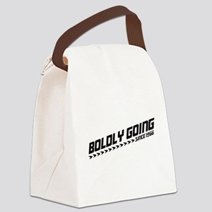 boldlygoing_bk Canvas Lunch Bag