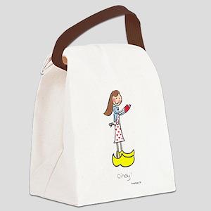 So Cindy! Canvas Lunch Bag