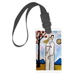 In the beginning, Large Luggage Tag