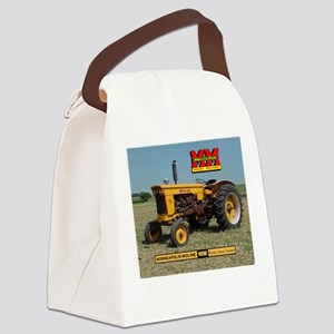 Minneapolis Moline Tractor Canvas Lunch Bag