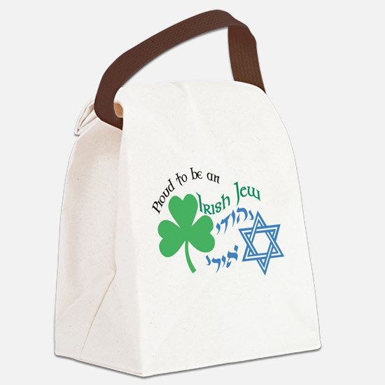 Proud Irish Jew Canvas Lunch Bag