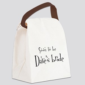 Soon Dave's Bride Canvas Lunch Bag