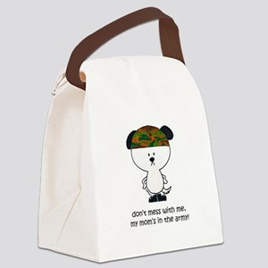 Dont mess with me... Canvas Lunch Bag
