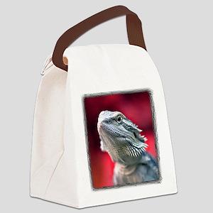 Dragon Head Canvas Lunch Bag