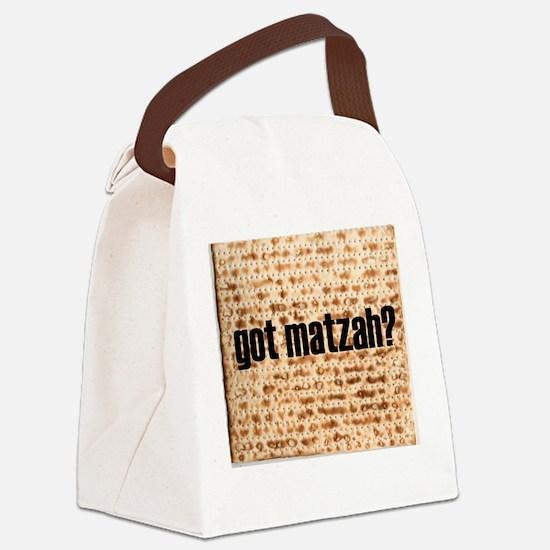 Got Matzah? Canvas Lunch Bag