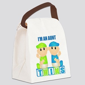 I'm An Aunt (BBB:blk) Canvas Lunch Bag