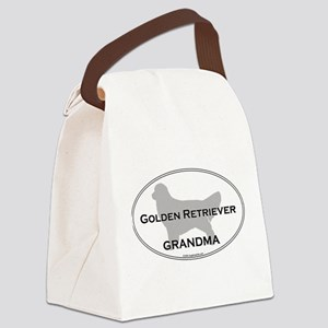 Golden GRANDMA Canvas Lunch Bag