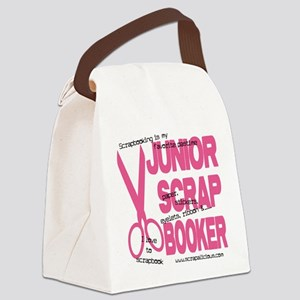 Junior Scrapbooker Canvas Lunch Bag