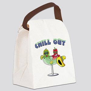 Chill Out Canvas Lunch Bag