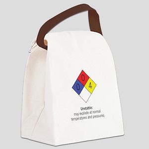 """Unstable"" Canvas Lunch Bag"