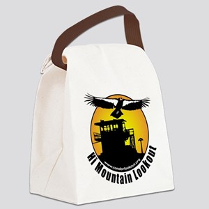 Canvas Lunch Bag- front image