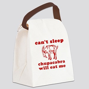 Chupacabra Canvas Lunch Bag
