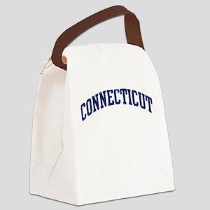 Blue Classic Connecticut Canvas Lunch Bag