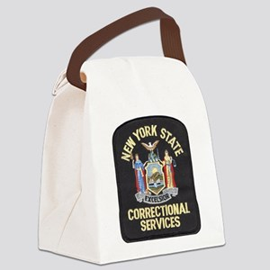 New York Corrections Canvas Lunch Bag
