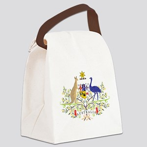 Aussie Coat of Arms Canvas Lunch Bag