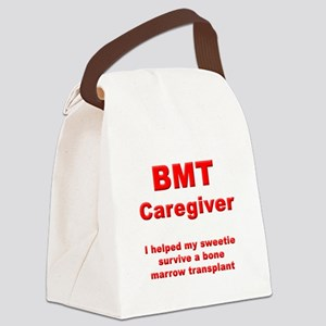 BMT Caregiver Canvas Lunch Bag