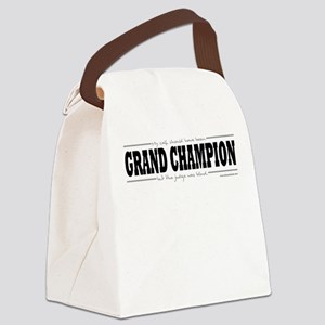 Grand Champion Canvas Lunch Bag