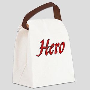 Super Hero Canvas Lunch Bag