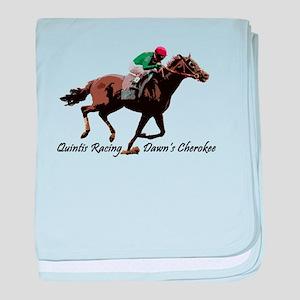 Quintis Racing Dawns Cherokee baby blanket