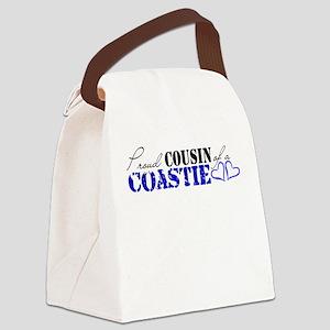 Proud Cousin of a Coastie Canvas Lunch Bag