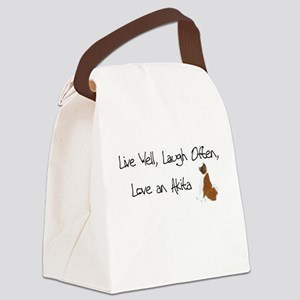Live Well Canvas Lunch Bag