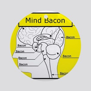 Mind Bacon Ornament (Round)