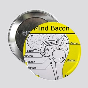 "Mind Bacon 2.25"" Button"
