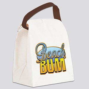 Beach Bum Canvas Lunch Bag