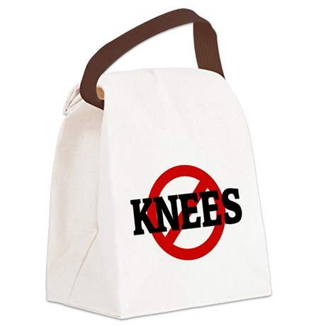 Anti KNEES Canvas Lunch Bag
