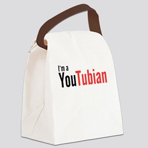 I'm A YouTubian Canvas Lunch Bag