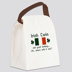 Irish Twin-Good Looking Canvas Lunch Bag