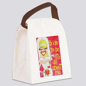Bride to Be Canvas Lunch Bag