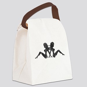 Mudflap Girl Canvas Lunch Bag