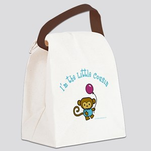 I'm the little cousin Canvas Lunch Bag