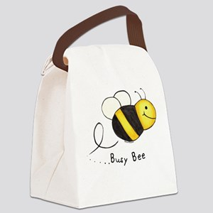 Busy Bee Canvas Lunch Bag