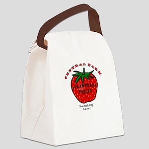 Central Park Canvas Lunch Bag