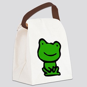 lil Frog Canvas Lunch Bag