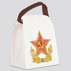 Soviet Red Star Canvas Lunch Bag
