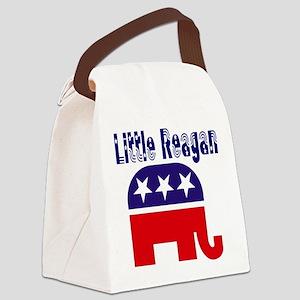 Little Reagan Canvas Lunch Bag