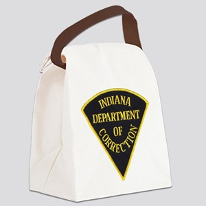 Indiana Correction Canvas Lunch Bag