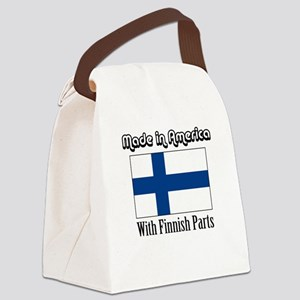 Finnish Parts Canvas Lunch Bag