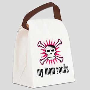 My Mom Rocks Canvas Lunch Bag