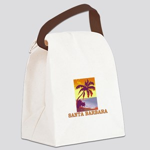Santa Barbara, California Canvas Lunch Bag