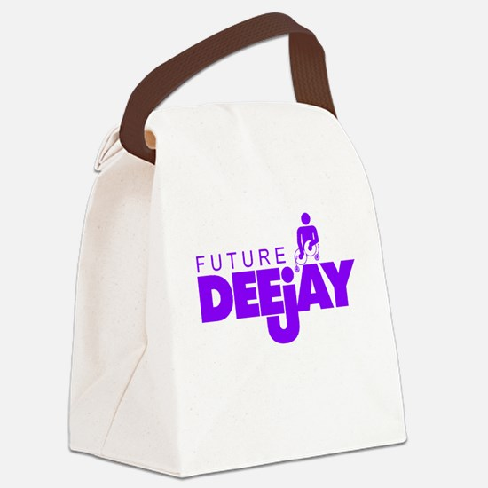 Future Deejay! Canvas Lunch Bag