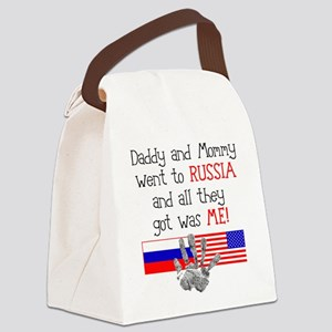 Russian Adoption (Parents) Canvas Lunch Bag