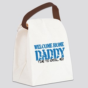 Welcome Home DADDY Canvas Lunch Bag
