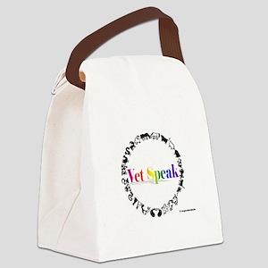 Vet Speak Canvas Lunch Bag
