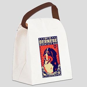 Bernese Mountain Dog! Canvas Lunch Bag