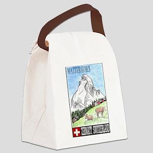 The Matterhorn Shop Canvas Lunch Bag
